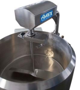 ABREX kádpasztőr, sajtkád, lassú fordulatú keverővel