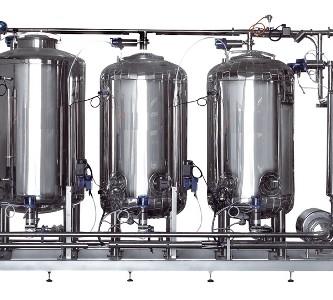 ABREX - CIP élelmiszeripari mosóközpont automata vagy félautomata vezérléssel