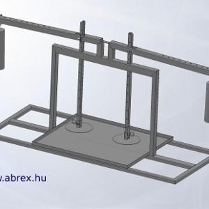 ABREX 2-nyomópontos függőleges, mechanikus sajtprés
