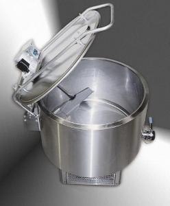 ABREX - tej hűtőkád, hűtőkompresszorral, keverővel, automatikus vezérléssel