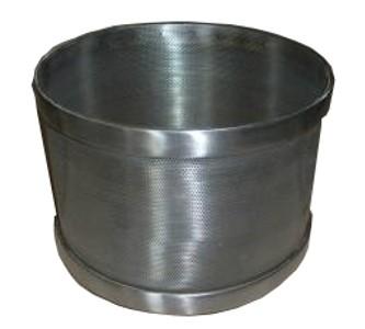 ABREX sajtforma, rozsdamentes acél (inox)