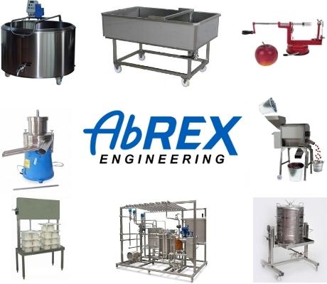 ABREX_elemiszeripari_feldolgozo_gepek
