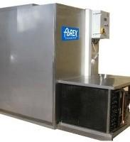 ABREX - jegesvizes hűtő, rozsdaments acél, élelmiszeripari kivitel