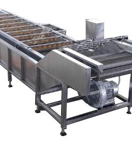 ABREX futószalagos gyümölcsmosó gép