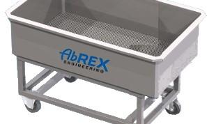 ABREX Alvadékszűrő- és túrókocsi