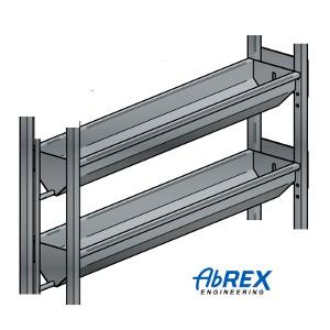 ABREX 2-nyomópontos vízszintes pneumatikus sajtprés