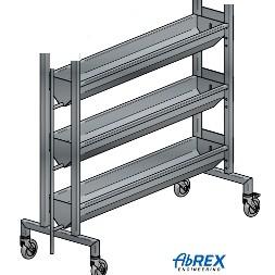 ABREX 3-nyomópontos vízszintes pneumatikus sajtprés